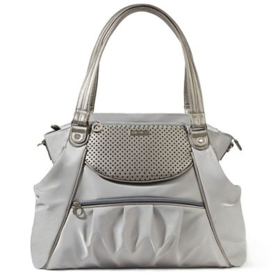 SKIP*HOP® Day to Night Satchel Diaper Bag in Pewter