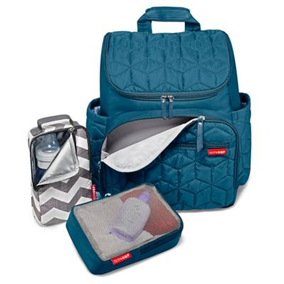SKIP*HOP® Forma Backpack Diaper Bag in Teal