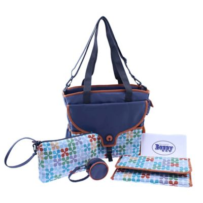 Boppy™ Golden Jacks Tote Diaper Bag in Navy/Multicolor