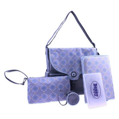 Boppy™ Vail Somerset Diaper Bag in Grey/Blue