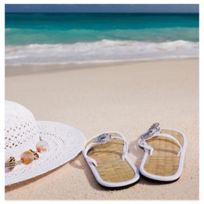 Thirstystone® Coastal Flip Flop Coaster