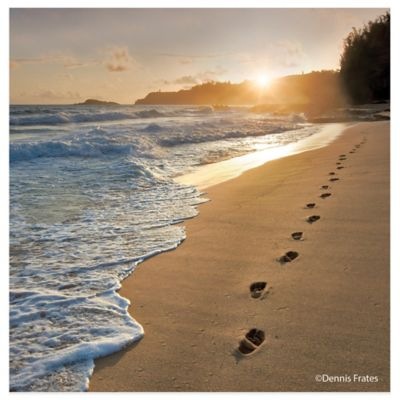 Thirstystone® Coastal Footprints Coaster