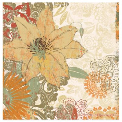 Thirstystone® Square Occasions Folk Flower I Coaster