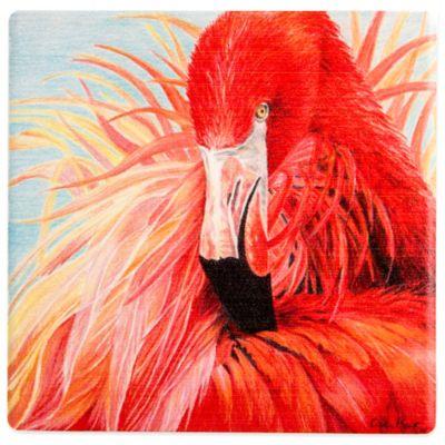 Thirstystone® Red Flamingo Coaster