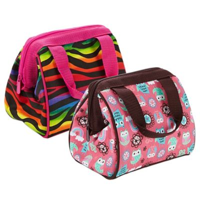 Fit & Fresh® Kids Riley Insulated Lunch Bag in Rainbow Owl
