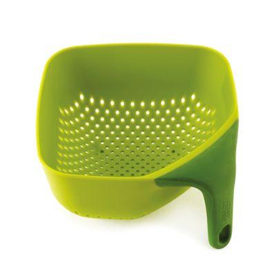 Joseph Joseph® Small Square Colander in Green