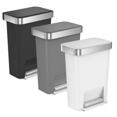 Simplehuman Rectangular Step Trash Cans