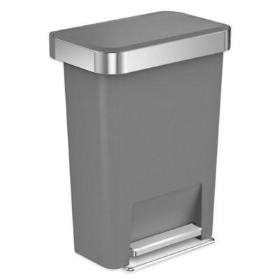 Grey Trash Cans