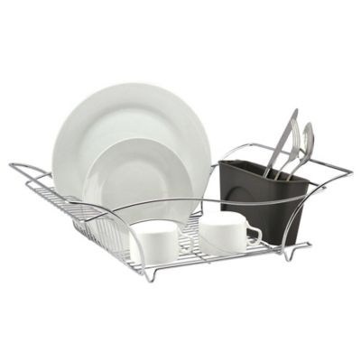 Multi-Function Dish Rack in Chrome