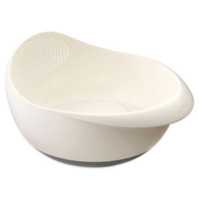 Joseph Joseph® Prep&Serve™ Large Colander in White