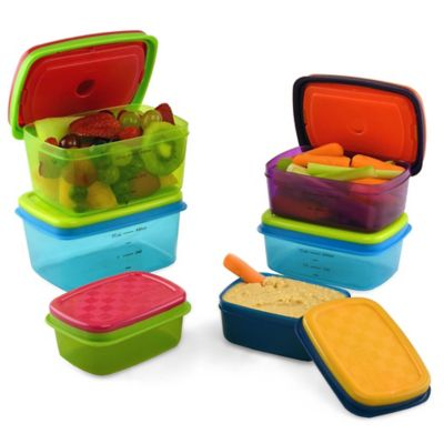 Fit & Fresh® 14-Piece Kids Food Storage Container Set