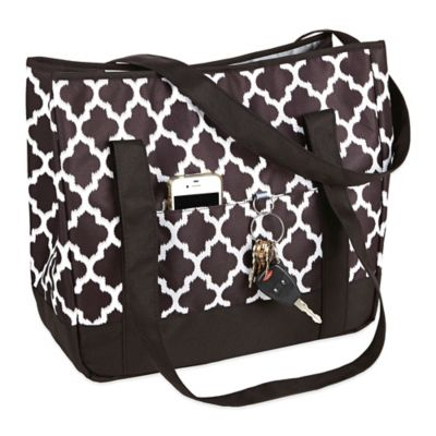Fit & Fresh® Aruba Insulated Beach Tote in Black