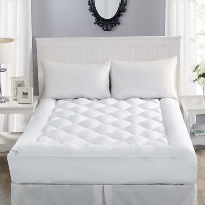 Robin Wilson Home Allergy Free California King Mattress Topper in White