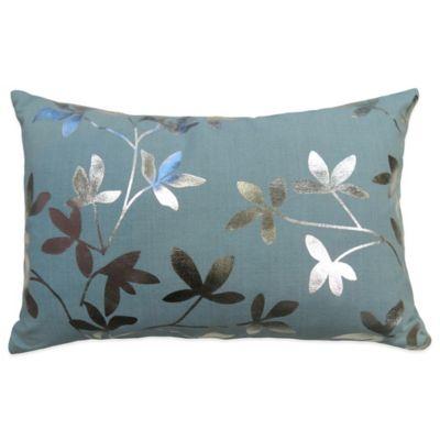 B. Smith Aqua Square Pillow
