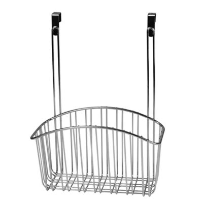 Spectrum™ Large Contempo Over the Cabinet Door Basket in Chrome