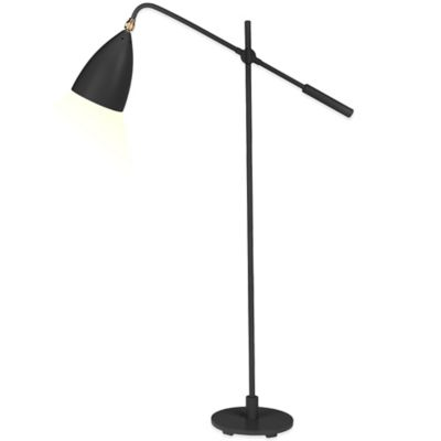 Kenneth Cole Reaction Home Counterbalance Floor Lamp in Charcoal