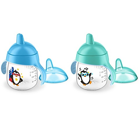 Avent My Penguin 2 Pack 9 Oz Sippy Cup Www