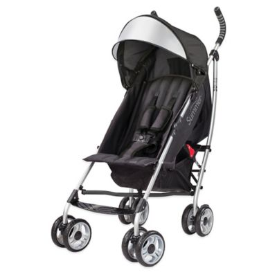 Summer Infant® 3D lite™ Convenience Stroller in Black/Silver