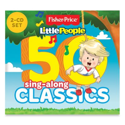 "Fisher-Price® ""50 Sing-Along Classics"" CD Set"