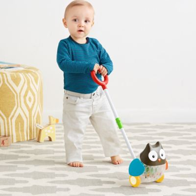 SKIP*HOP® Explore & More Rolling Owl Push Toy