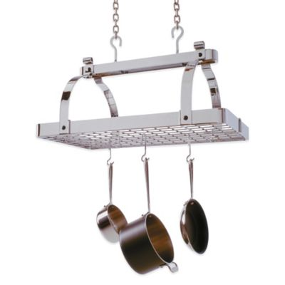 Enclume® Classic Rectangle Rack without Bar with Grid in Chrome