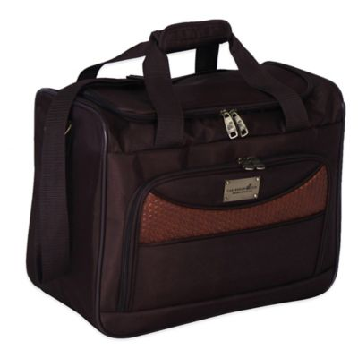 Caribbean Joe Castaway 16-Inch Boarding Tote in Chocolate