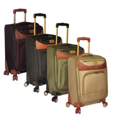Caribbean Joe Castaway 20-Inch Expandable Upright Spinner in Tan