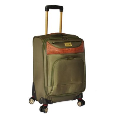 Expandable Spinner Upright Carry-On Luggage