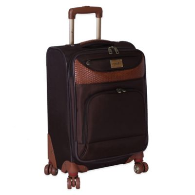 Caribbean Joe Castaway 20-Inch Expandable Upright Spinner in Chocolate