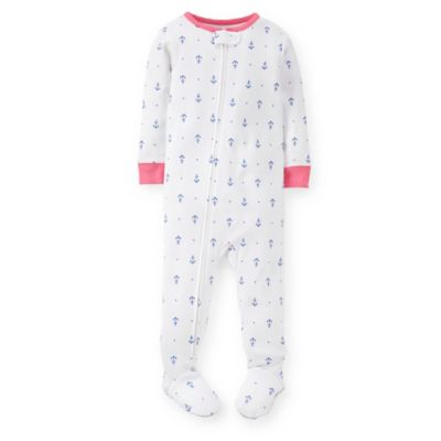 Carter's® Size 3T Anchor Print PJ in White