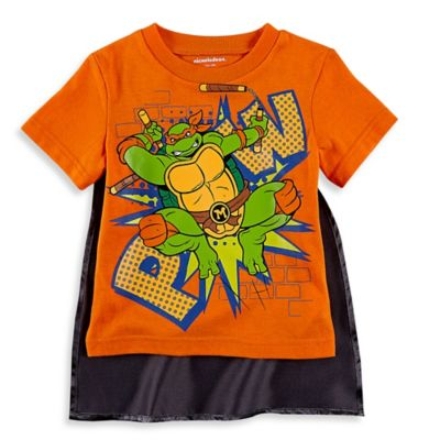 Orange Teenage Mutant Ninja Turtles
