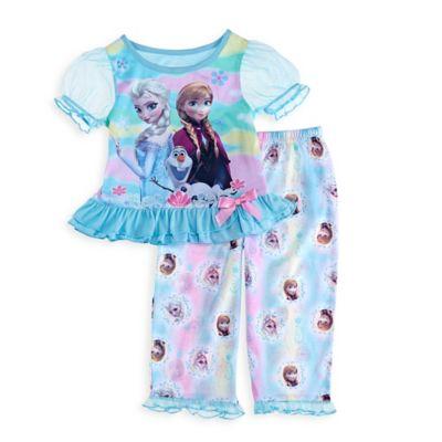 """Disney® """"Frozen"""" Size 2T 2-Piece Ruffle PJ Set"""