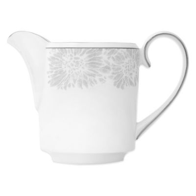 Vera Wang Wedgwood® Vera Chantilly Lace Imperial Creamer in Grey