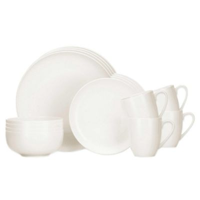 Lenox® Largo 16-Piece Dinnerware Set in White