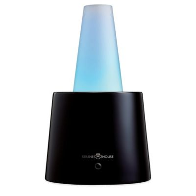 Serene House® Cenit II Electric Aromatherapy Diffuser in Black