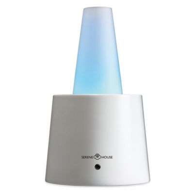 Serene House® Cenit II Electric Aromatherapy Diffuser in White