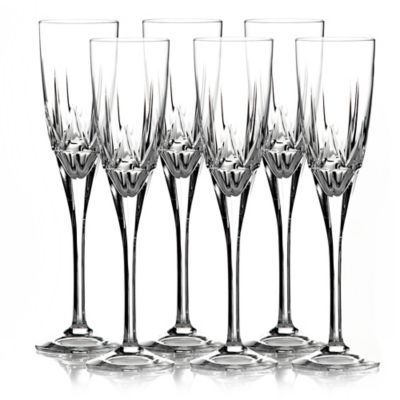 Royal Doulton Belvedere Toasting Flutes by Waterford (Set of 6)