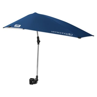 Sport-Brella Versa-Brella All-Position Beach Umbrella with Universal Clamp in Blue