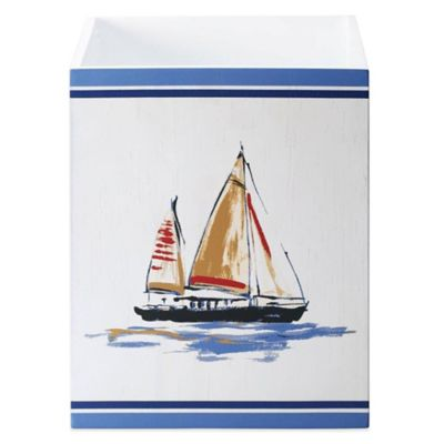 J. Queen New York Voyage Wastebasket