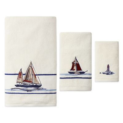 J. Queen New York Voyage Bath Towel