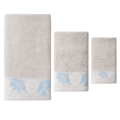 Cotton Tropical Bath Towels