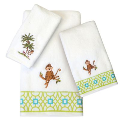 Monkey Bath Towel Set