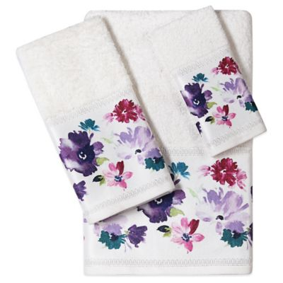 Teal Fingertip Towels