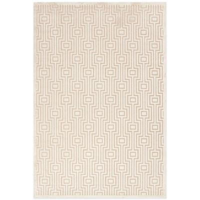 Jaipur Valiant 7-Foot 6-Inch x 9-Foot 6-Inch Area Rug in Ivory/Taupe
