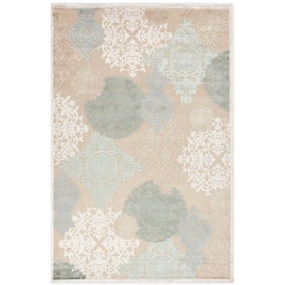Jaipur Fables Wistful 6-Foot x 6-Foot Area Rug in Ivory/Blue