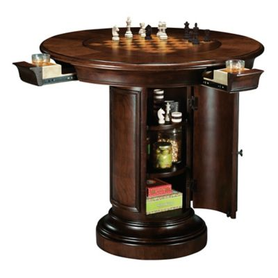 Howard Miller Ithaca Pub Table in Hampton Cherry