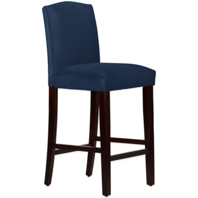Skyline Furniture Diana Arched Barstool in Mystere Eclipse
