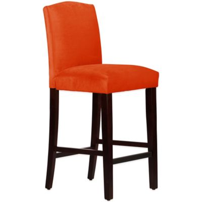Skyline Furniture Diana Arched Barstool in Mystere Mango
