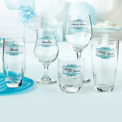 Lillian Rose™ Bridal Shower Glass Clings (Set of 20)
