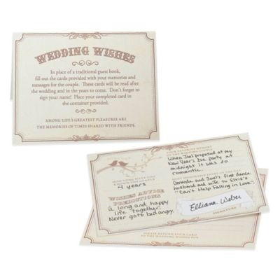 Lillian Rose™ Wishes Cards Wedding Essentials